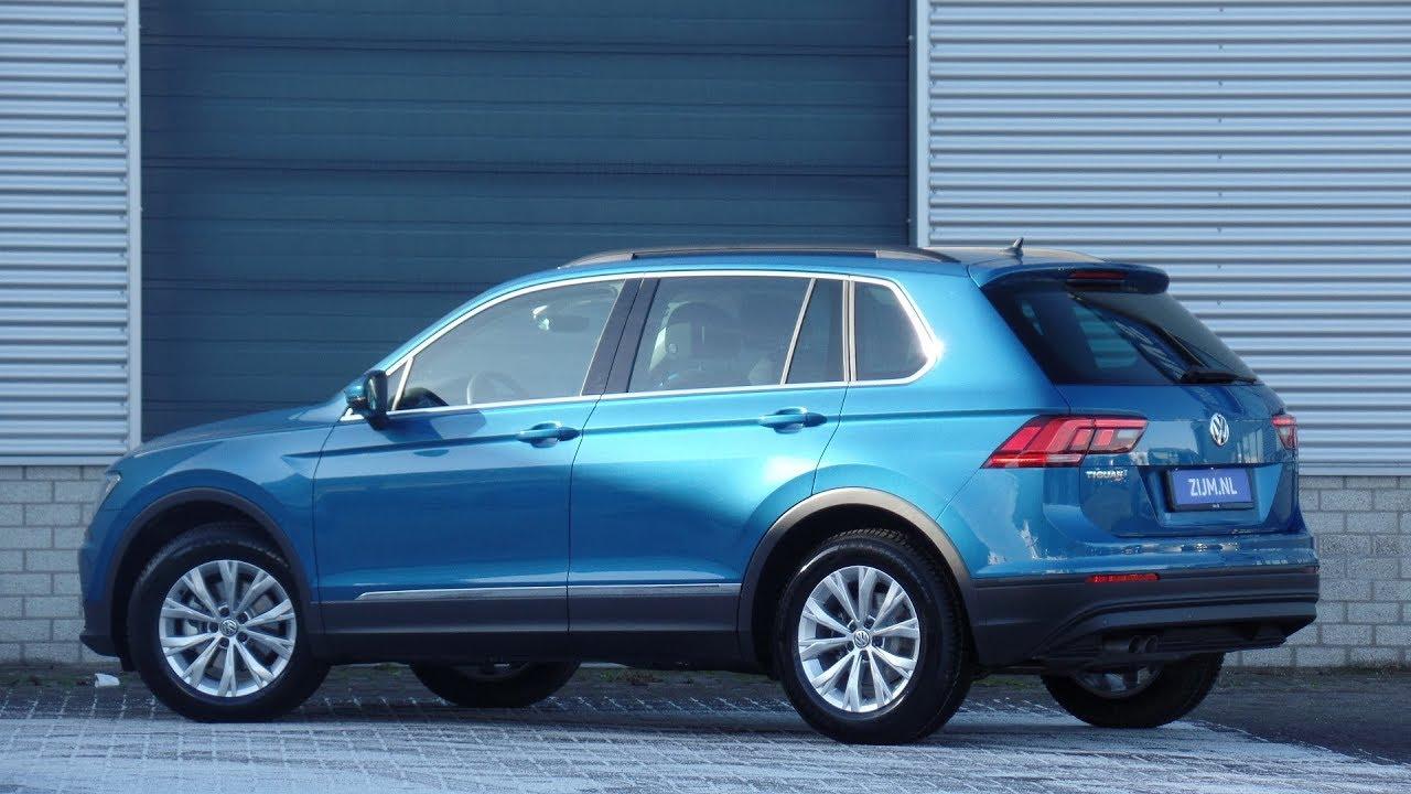 Volkswagen New Tiguan Comfortline 2019 Caribbean Blue Metallic Walk