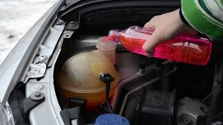 Weekly checks Ep. 1 - Coolant level too low Peugeot - Citroen