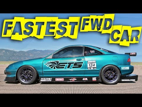 First 200MPH in a Turbo Acura INTEGRA! - YouTube