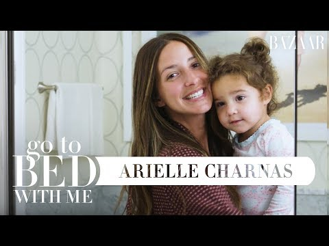 Something Navy's Arielle Charnas Nighttime Skincare Routine  Go To Bed With Me  Harpers BAZAAR