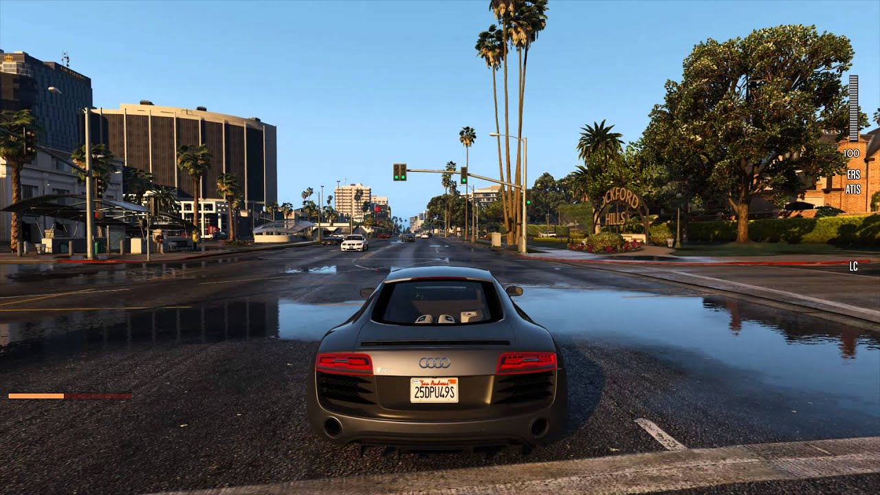 GTA V Mod Will Replace the Game's Cars with Their Real Counterparts