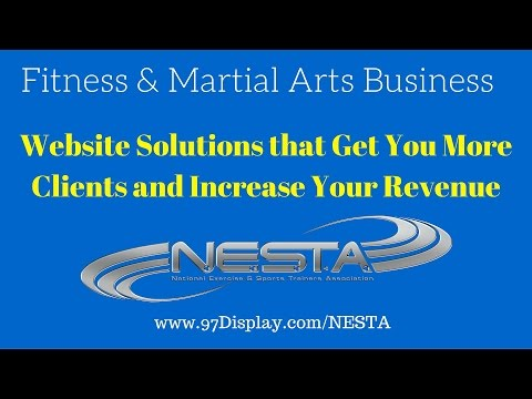 Fitness & Martial Arts Website Design and Solutions