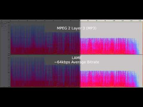 Ogg Vorbis vs. MP3 - Audio Quality Test at 64kb/s