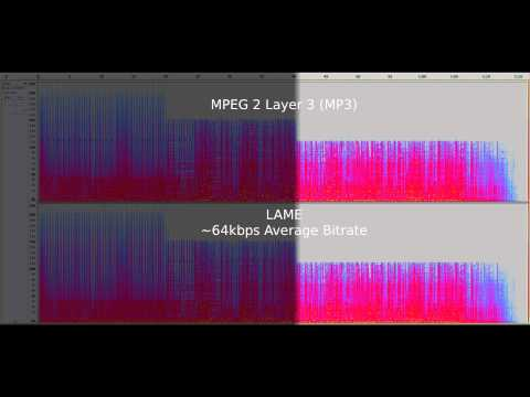 Ogg Vorbis vs. MP3 - Audio Quality Test at 64kb/s