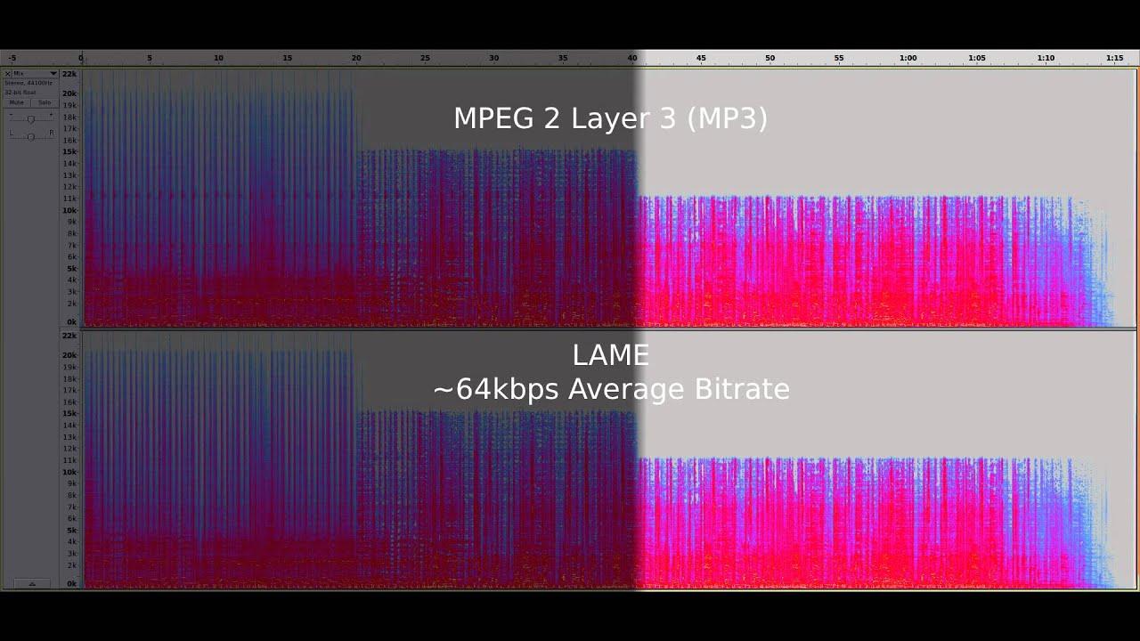 Ogg Vorbis vs. MP3 - Audio Quality Test at 64kb/s - YouTube