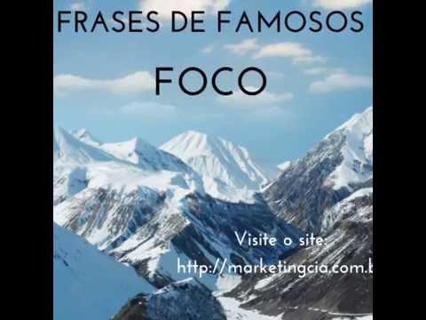 Frases de Famosos - FOCO