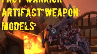 Wow Legion Warrior Artifact Models - Protection