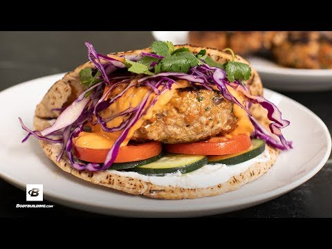 Red Curry Turkey Burger   Fuel & Gainz by Fit Men Cook