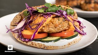 Red Curry Turkey Burger | Fuel & Gainz by Fit Men Cook