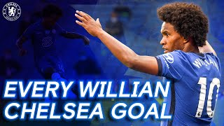 Every Willian Goal For Chelsea! | Thank You Willian
