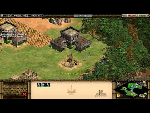Beating the Age of Empires II HD (The Forgotten) AI on Hardest