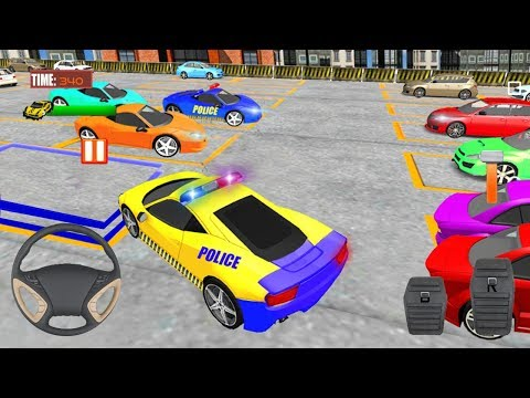 NYDP Police Car Parking 3D (by PinPrick Games) Android Gameplay [HD]