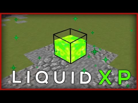 Minecraft Vanilla: How To Make A Liquid XP Tank! (no Mods!)