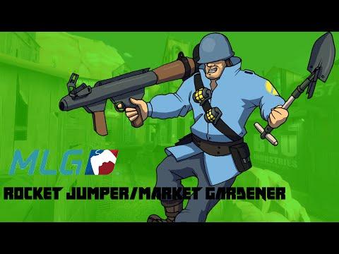 TF2| MLG Rocket Jumper/Market Gardner Skill