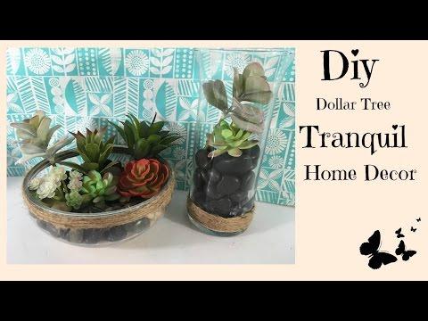 DIY DOLLAR TREE TRANQUIL HOME DECOR