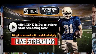 Runge vs. Bruni - Live Football HighSchool || Playoffs