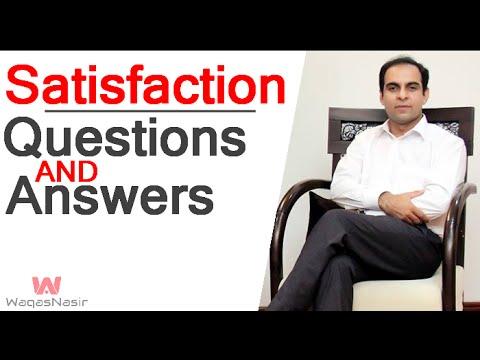 Life Satisfaction: Questions & Answers- By Qasim Ali Shah (In Urdu/Hindi) 2016