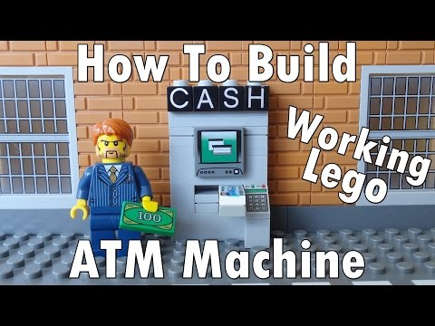 How To Build A Working Lego ATM Machine