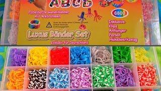 Обзор набора для плетения из резинок | RAINBOW LOOM