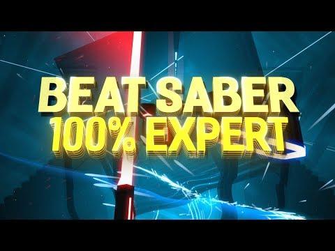 Beat Saber: 100% COMBO ON BEAT SABER EXPERT! - Incon