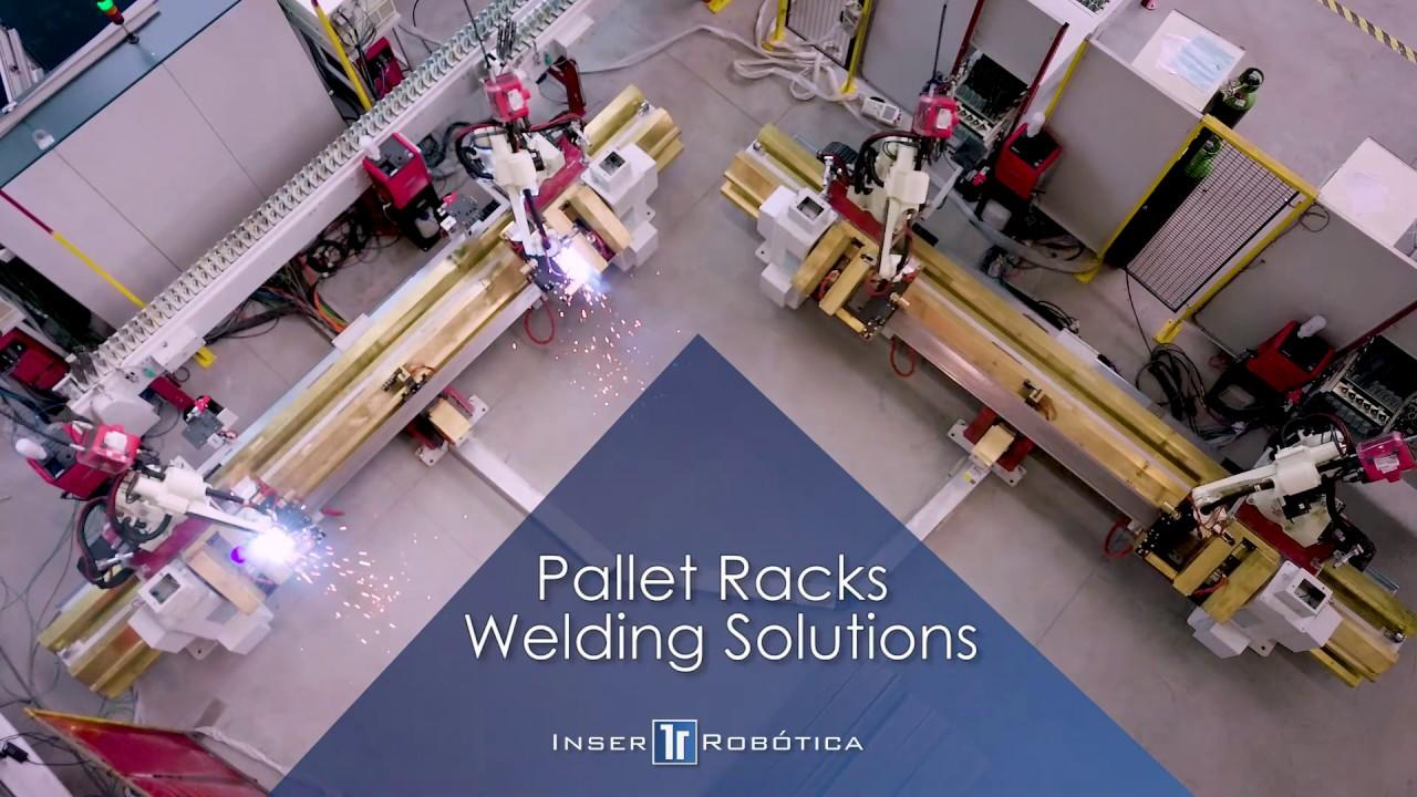 Integral Solutions for PALLET RACKS Manufacturing | Inser