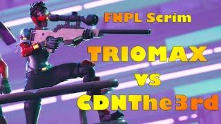 Triomax & NobleJoe vs CDNThe3rd & RequiemSlaps - FNPL Scrim - Arabic Commentary + Stream VOD