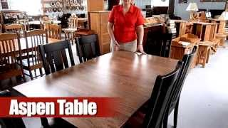 Aspen Dining Table And Jacoby Chairs