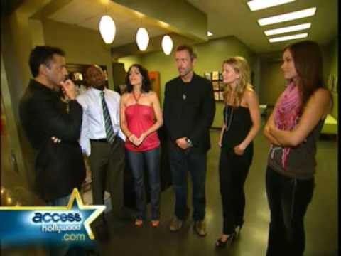 Olivia Wilde - The Cast Of House React To Emmy Nominations 2008 for Access Hollywood