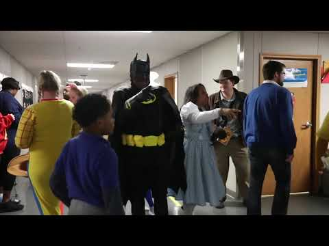 More Than 500 Second- and Third-Graders Marched in the 4th Annual Chester Community Charter School Costume Character Parade