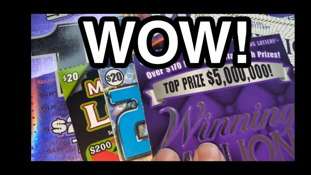 WOW! WIN! CHASE RD 2! $230 In Texas lottery scratch off tickets!