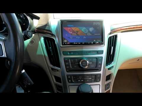 (Update) Noah Jones Gets The New Radio Installed In The Cadillac CTS (After)