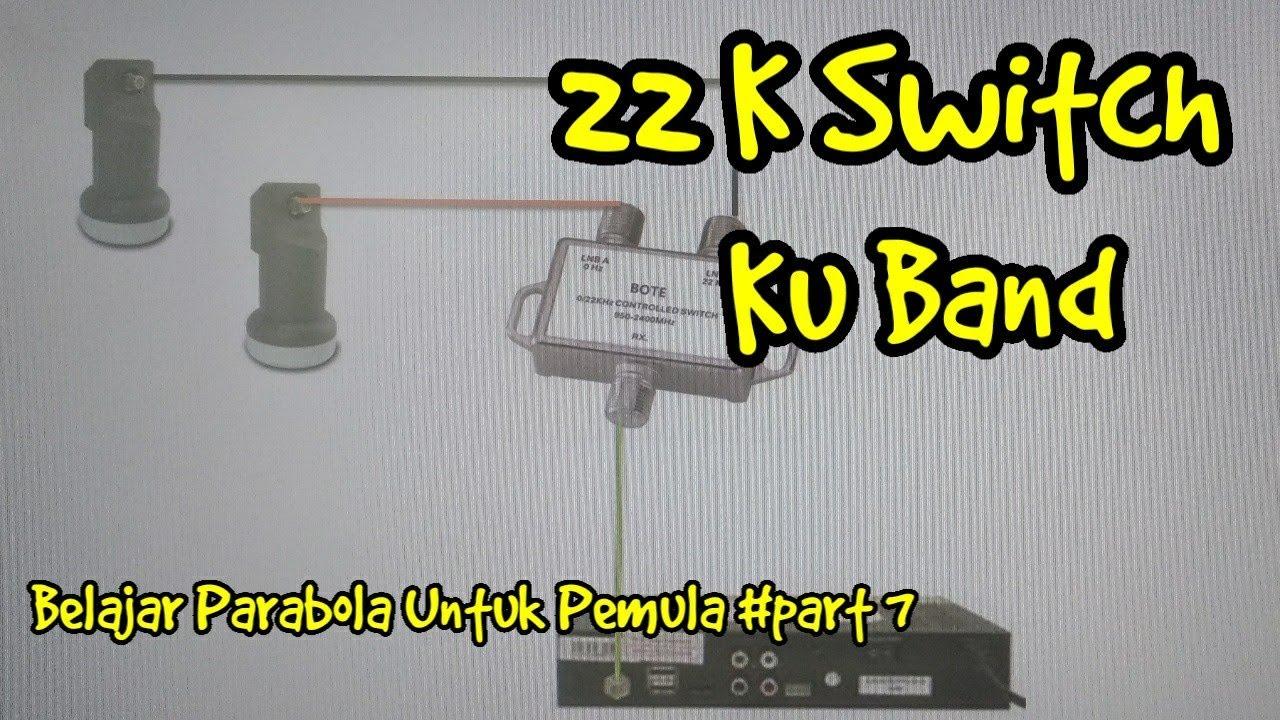Switch 22 k Pada  LNB Ku Band Parabola - Belajar Parabola Untuk Pemula