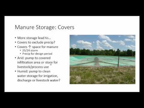 Climate Change Impacts on Dairy Manure Systems