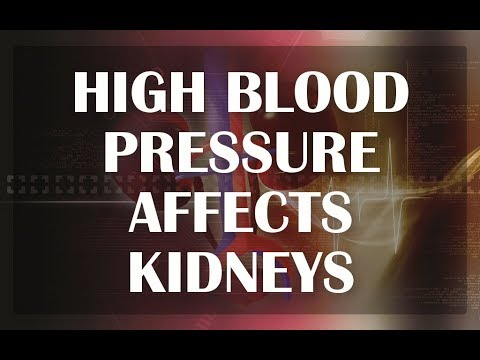 Kidney Disease And High Blood Pressure - HOW HIGH BLOOD PRESSURE AFFECTS KIDNEYS