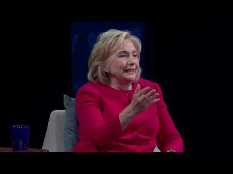 Hillary Clinton on Recode Decode with Kara Swisher at the 92nd ...