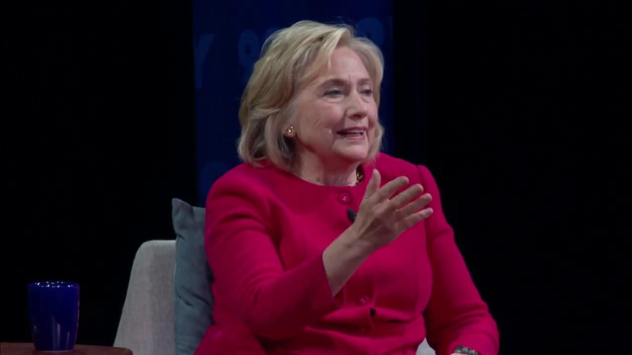 Hillary Clinton talks with Kara Swisher on Recode Decode podcast