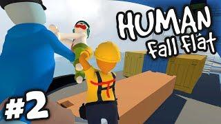 Trouble At Sea   Human: Fall Flat #2