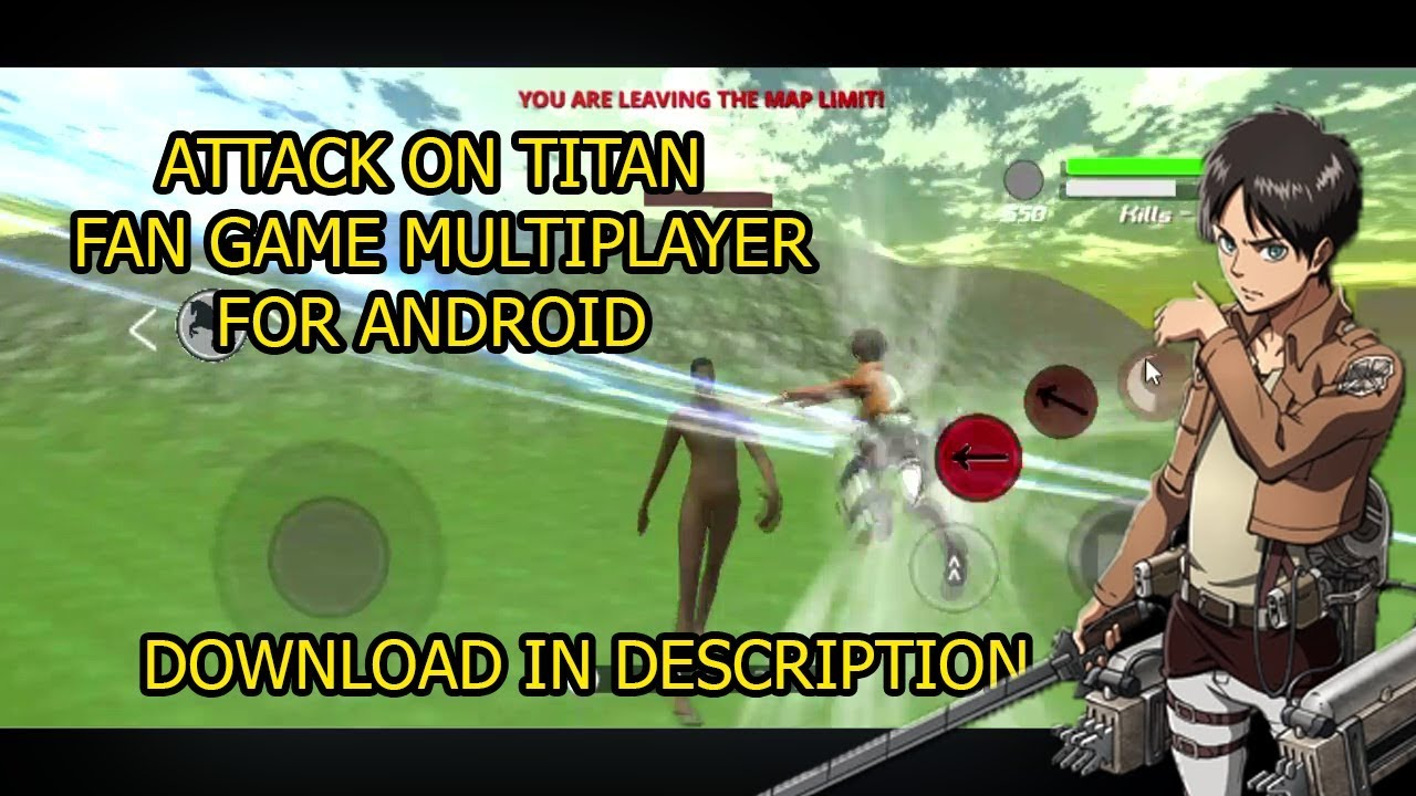 Attack On Titan Game Android Offline Apk