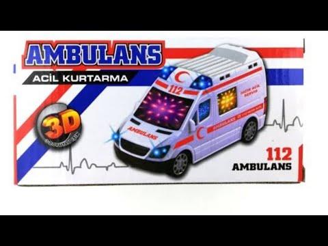 112 acil ambulans tanıtımı