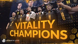 How Team Vitality Became CS:GO Champions - The Story of the ECS S7 Finals