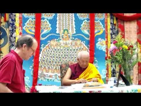 10 Pramanavarttika with Geshe Yeshe Thabkhe: Identifying the Cause of a Future Life's Body 08-25-19