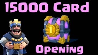 🔵Clash Royale15000 Chest Opening🔵Insane Amount Of Epic And Legendaries