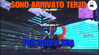 Je suis arrivé TERZO en raison d'un faux no-skin (gameplay fortnite)