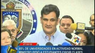 1208 MIN FERNÁNDEZ LEVANTE PARO UNIVER VENEVISIÓN 28 10 2015