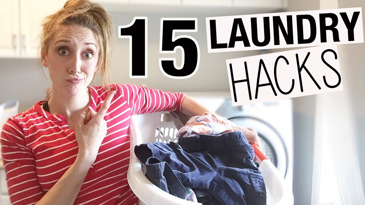 My Top 15 Laundry Hacks! (You're welcome in advance   ) - Fun Cheap