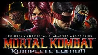Mortal Kombat Komplete Edition Gameplay (PC HD)