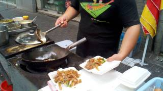 Street food master in Shanghai