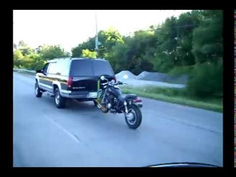Alpha One Motorcycle Tow Hitch Part One Youtube
