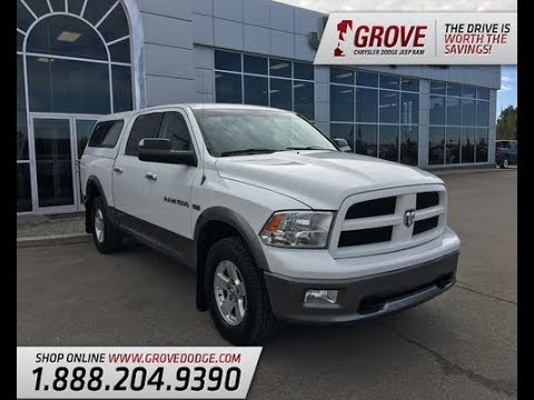 2012| Dodge| Ram| 1500| Outdoorsman| Cloth| Canopy| Trailer Tow Mirrors| Grove Dodge