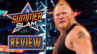 BROCK LESNAR DE RETOUR Review WWE SummerSlam 2021